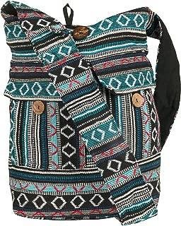 Large Woven Shoulder Hobo Bag School Laptop Women Boho Beach Travel Tribal
