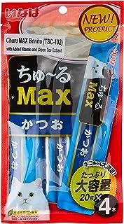 Ciao CISC102 Churu MAX Katsuo Cat Treat Sachets, 20g (4 Piece)