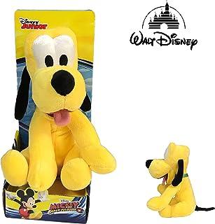 Dsney Famosa Softies Famosa 70004806 Pluto, Micky Mouse mascotte 25 cm zachte kwaliteit blister