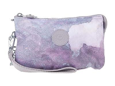 Kipling Creativity XL Printed Pouch (Canyon Mist) Clutch Handbags