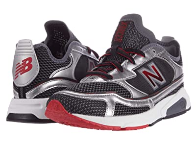 New Balance Classics X-Racer (Black/Silver Metallic) Men