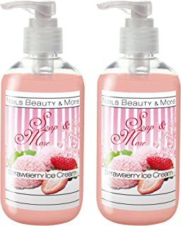 NBM Soap and More, Strawberry Ice Cream 250 ml - Pack of 2