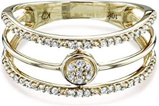 wedding band with diamonds halfway around