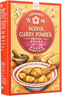 Shermay's Singapore Fine Food Nonya Curry Powder, 200g (Pack of 2)