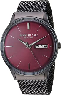 Kenneth Cole New York Men's 'Classic' Quartz Stainless Steel Casual Watch(KC50589007/04/05/01)