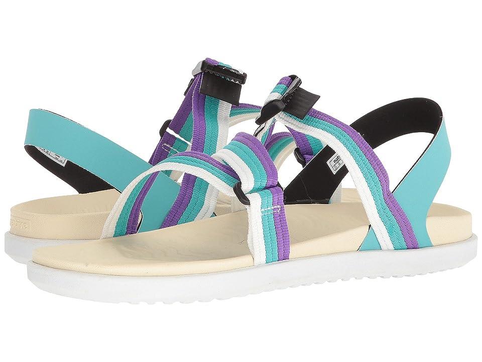 Native Shoes Zurich (Pool Blue/Bone White/Shell White) Shoes