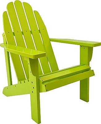 Shine Company 4613LG Catalina Adirondack Chair, Lime Green
