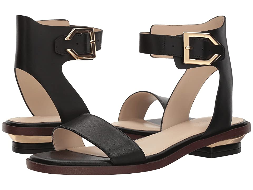 Cole Haan Avani Sandal (Black Leather) Women