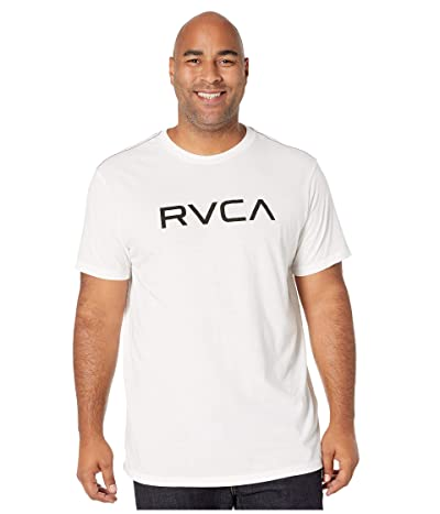 RVCA Big RVCA T-Shirt Shot Sleeve (Antique White) Men