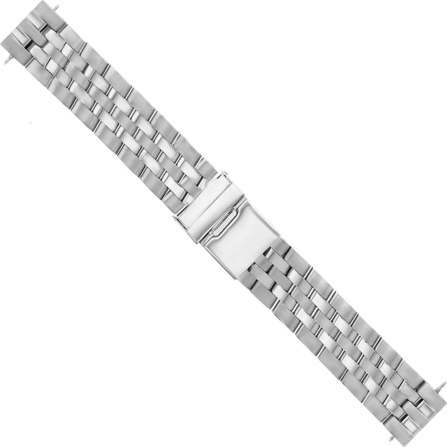 20mm Watch Band Stainless Steel with Compatible Selling and selling Bracelet Max 83% OFF Breitli