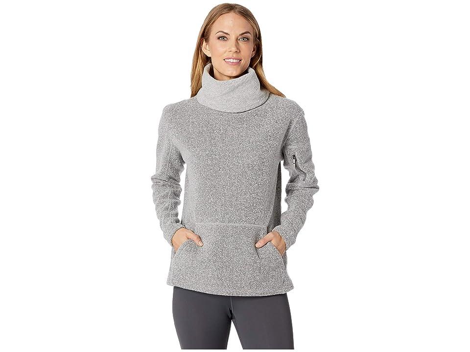 Smartwool Hudson Trail Pullover Fleece Sweater (Light Gray) Women