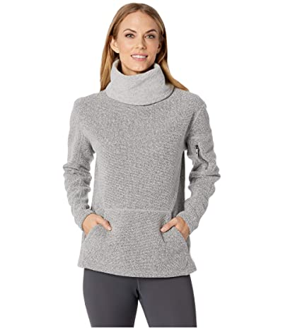 Smartwool Hudson Trail Pullover Fleece Sweater (Light Gray) Women