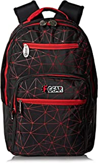 Teen Ages F Gear Spide School Backpack for Boys - Black