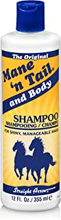 Mane 'n Tail - Shampoo and Body for Shiny and Manageable Hair - Straight Arrow - 12oz - 355ml