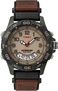 Timex Mens Expedition Trail Chronograph Resin Combo Watch