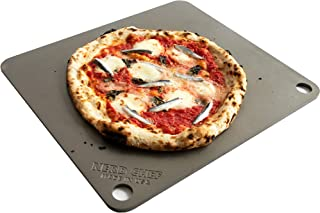 NerdChef Steel Stone - High-Performance Baking Surface for Pizza (14.5