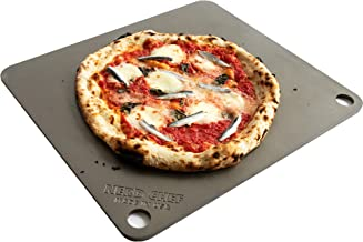"""NerdChef Steel Stone - High-Performance Baking Surface for Pizza (14.5""""x16"""" x1/4"""") - (.25"""" Thick - Standard)"""