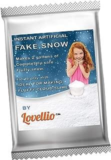 homemade snow foam