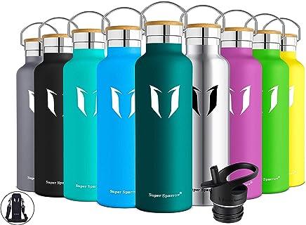 ZSL8 Sportflasche M/änner Frauen Vakuum Student Edelstahl ohne BPA Wasserflasche Laufen Reise tragbare auslaufsichere Thermoskanne Tasse