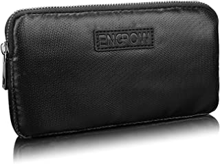 Fireproof Power Bank Carrying Case,ENGPOW Fire Resistant Organizer Accessories Bag Fire Safe Portable Charger Hard Drive Bag Travel Storage for Tech Zipper Pouch, My Passport Essential,USB Cable