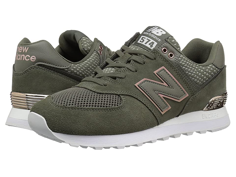 New Balance Classics WL574 (Military Foliage Green) Women