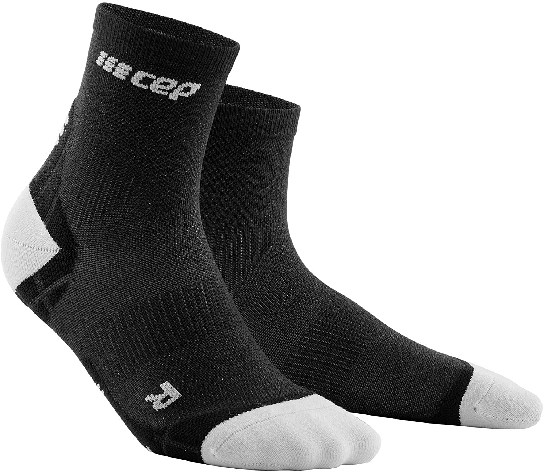 CEP ultralight short socks, black/light grey, men IV