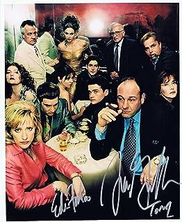 ◆直筆サイン ◆ザ ソプラノズ ◆THE SOPRANOS (1999-2007) ◆ジェームズ ガンドルフィーニ as トニー ソプラノ ◆James Gandolfini as Tony Soprano ◆イーディ ファルコ as カメーラ...