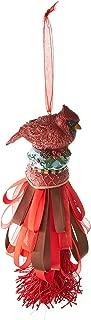DEMDACO Seasons Cardinal Tassel Ornament