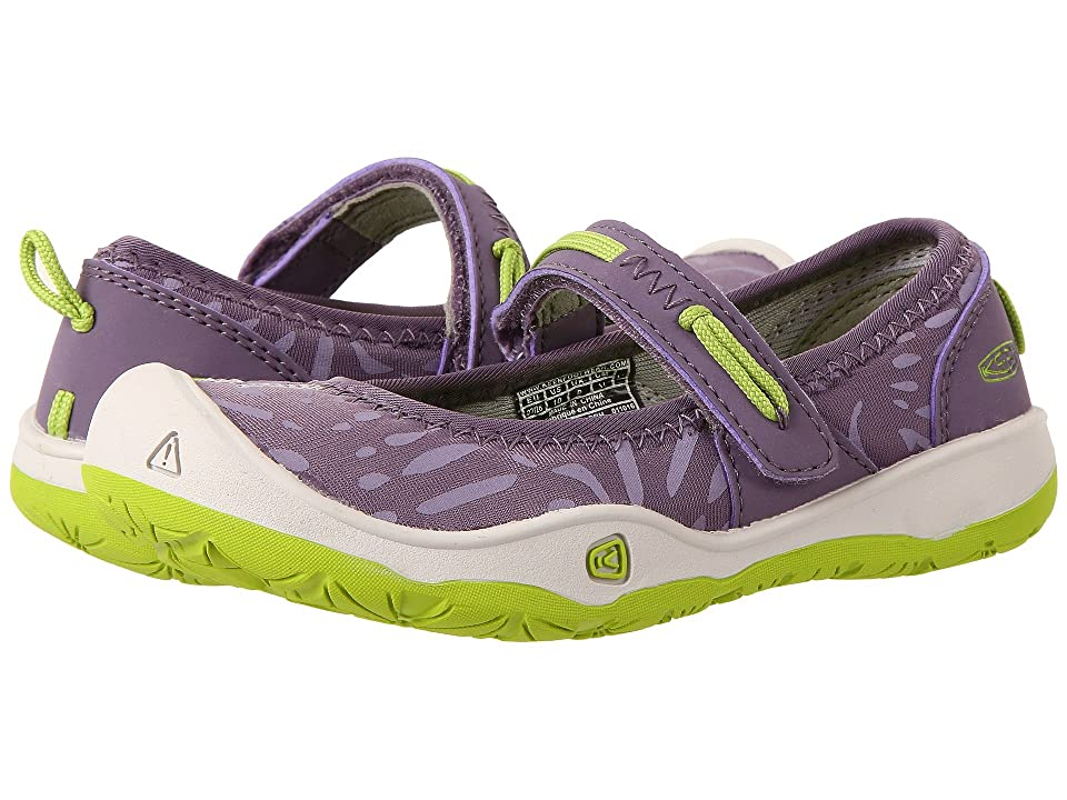Keen Kids Moxie Mary Jane (Toddler/Little Kid) (Purple Sage/Greenery) Girl