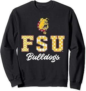 Ferris State Bulldogs Patterned Letters Sweatshirt - Apparel