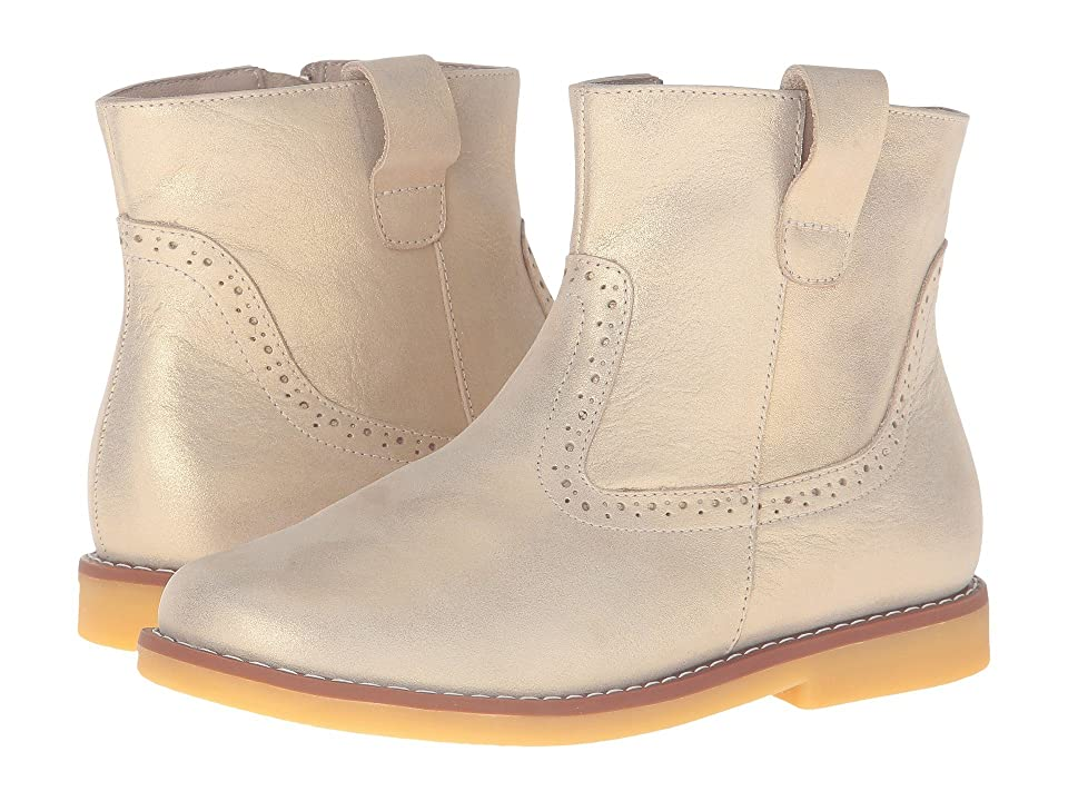 Elephantito Madison Ankle Boot (Toddler/Little Kid/Big Kid) (Gold 1) Girls Shoes