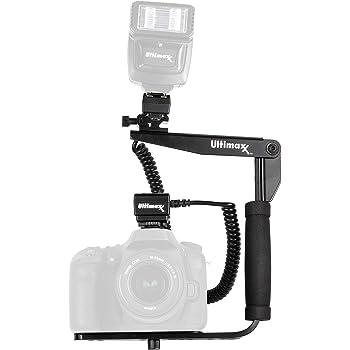 Nikon Shoe Hila Nikon D900 Flash Bracket PivPo Pivoting Positioning 180 Degrees