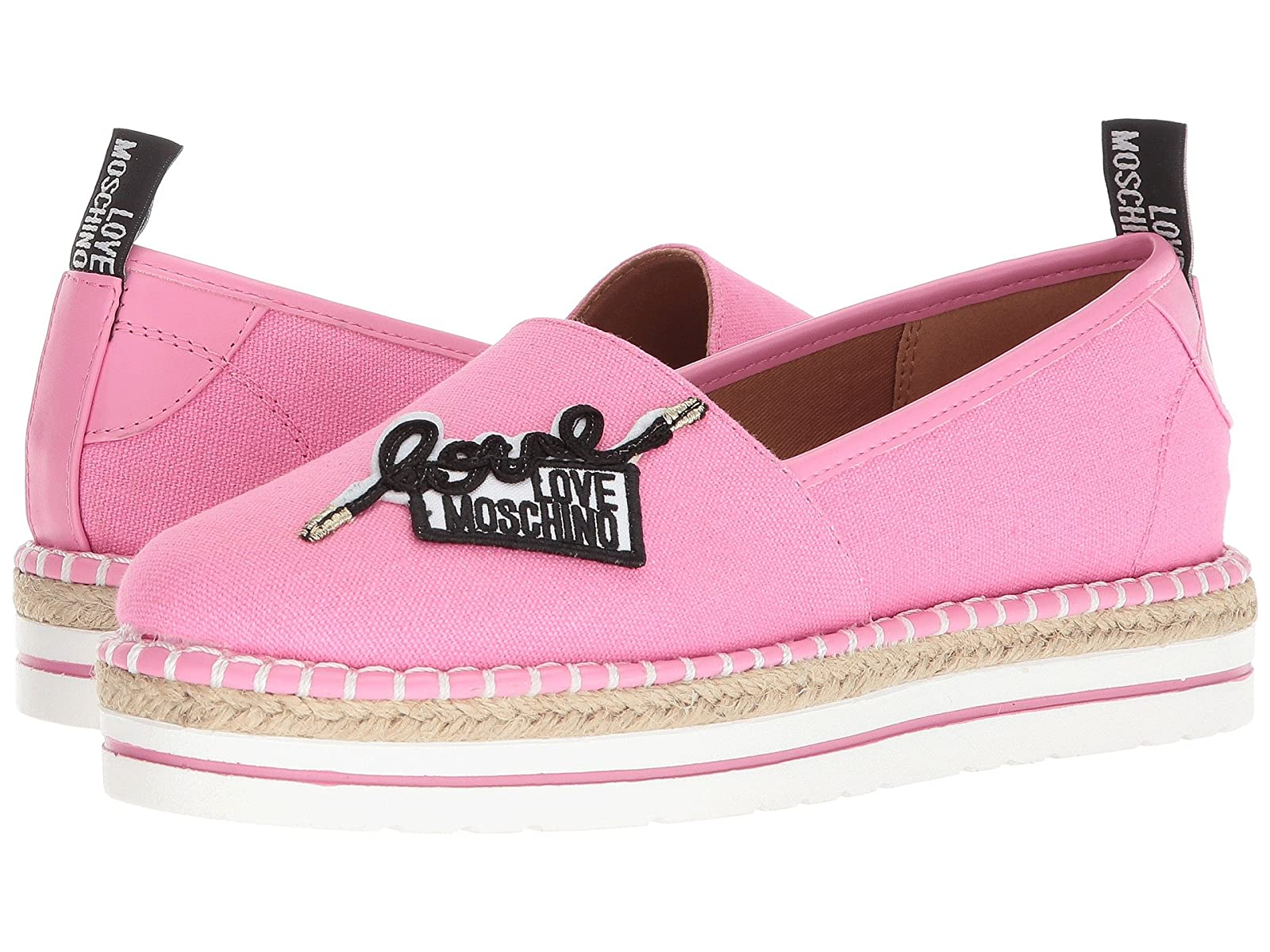 LOVE Moschino Canvas EspadrilleAtmospheric grades have affordable shoes