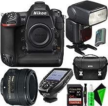 Nikon D5 DSLR Camera (Body Only, Dual CF Slots) + Nikon 50mm 1.8G AF-S Lens + 128GB CompactFlash Memory Card + GODOX Flash (TTL) with Built-in Receiver + TTL Wireless Transmitter