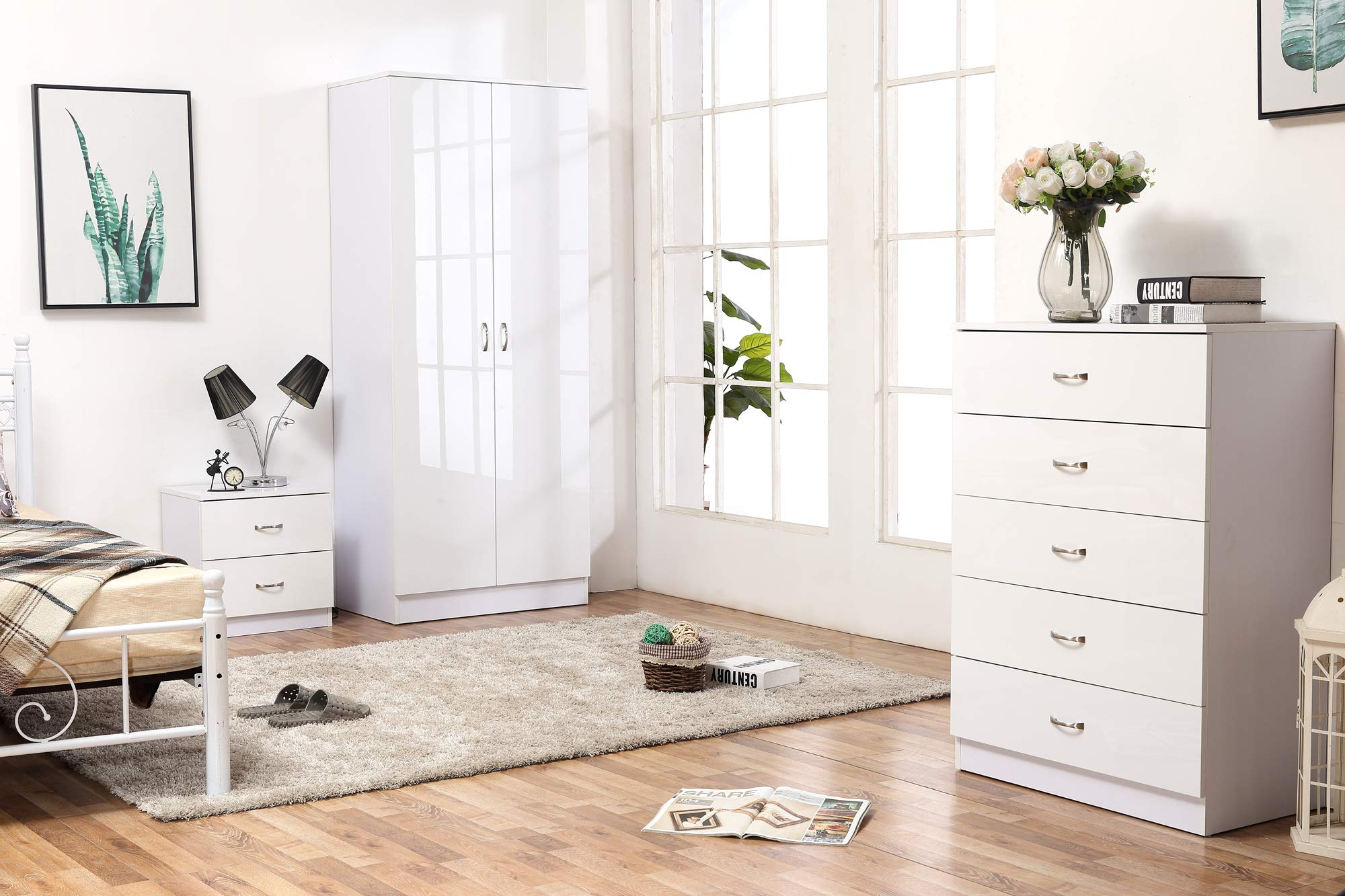 white high gloss bedroom furniture sets amazon co uk rh amazon co uk