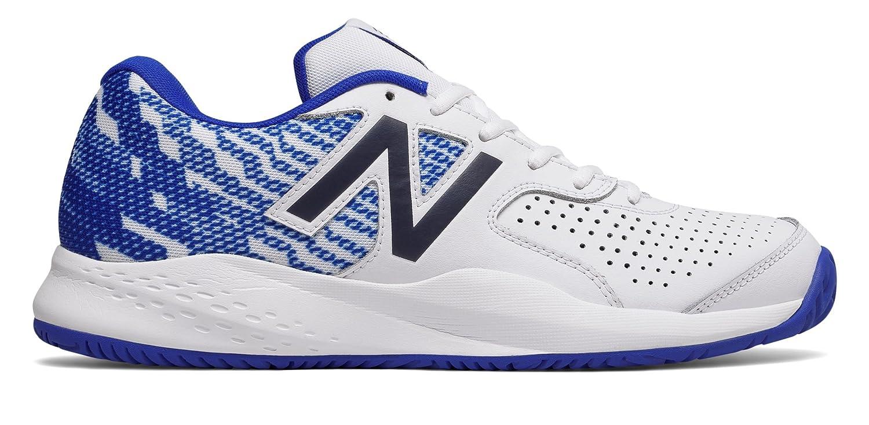 (ニューバランス) New Balance 靴?シューズ メンズテニス New Balance 696v3 White with Royal Blue ホワイト ロイヤル ブルー US 12 (30cm)