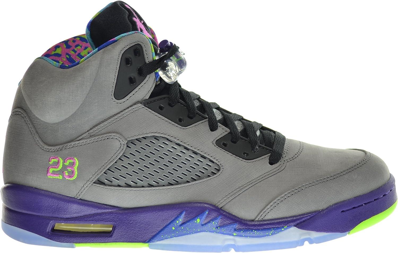 exótico Parche Hamburguesa  Amazon.com | Jordan Air 5 Retro Bel Air Fresh Prince Men's Shoes Cool  Grey/Club Pink-Court Purple-Game Royal 621958-090 (Size | Basketball