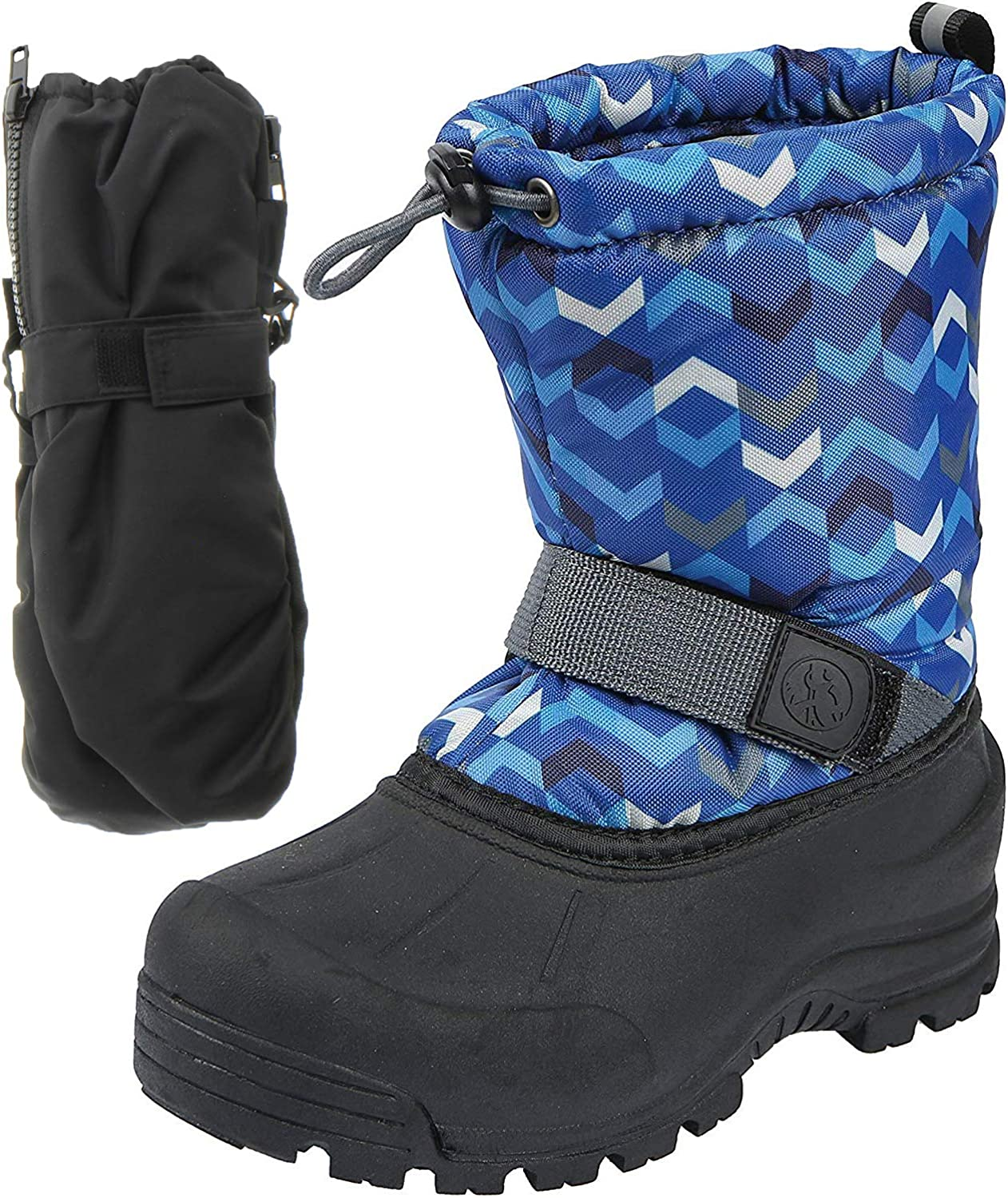 Nashville-Davidson Mall Northside Frosty Winter Snow Max 63% OFF Boots with Boys for Girls Matching