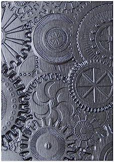 Sizzix 3-D Texture Fades Embossing Folder, Gray