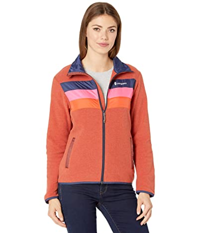 Cotopaxi Teca Fleece Jacket (Hot Sauce) Women