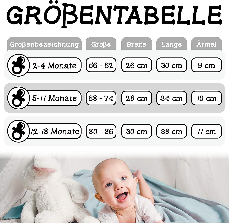 Shirtracer Mein 1 Anl/ässe Baby Kurzarm Baby-Shirt f/ür Jungen und M/ädchen Neujahr schwarz 2021