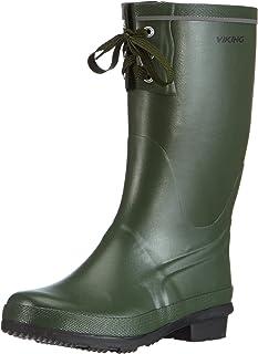 Viking Unisex Adults' Wellington Boots, Green, 5.5 UK
