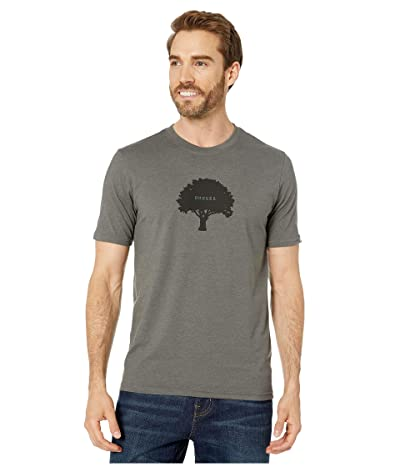 Prana Tree Hugger Journeyman T-Shirt (Charcoal Heather) Men