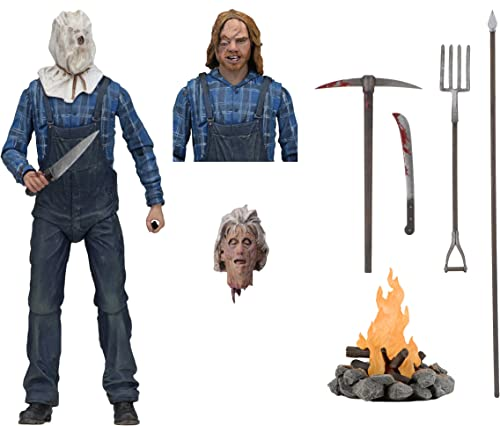 """NECA - Friday The 13th - 7"""" Scale Action Figure - Ultimate Part 2 Jason"""
