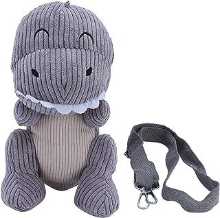 Plush Messenger Bag, Portable Cute Cute Plush Bag for Children for Kids for Travel for Shopping(Light Grey)