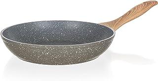 Banquet - Sartén forjada de Piedra Natural, Aluminio, Granito Gris, 24,5