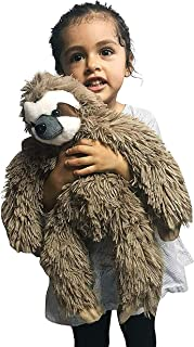 GRIFIL ZERO Three Toed Sloth Stuffed Animal Plush Toy