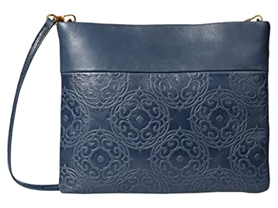 The Sak Tomboy Convertible Clutch by The Sak Collective (Indigo Souk Embossed) Clutch Handbags