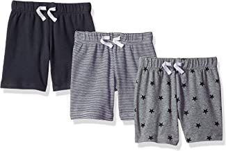 Amazon Essentials 3-Pack Pull-on Short Bebé-Niños