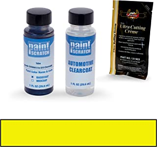PAINTSCRATCH Yellow 34/WA9414 for 2010 Chevrolet Camaro - Touch Up Paint Bottle Kit - Original Factory OEM Automotive Paint - Color Match Guaranteed